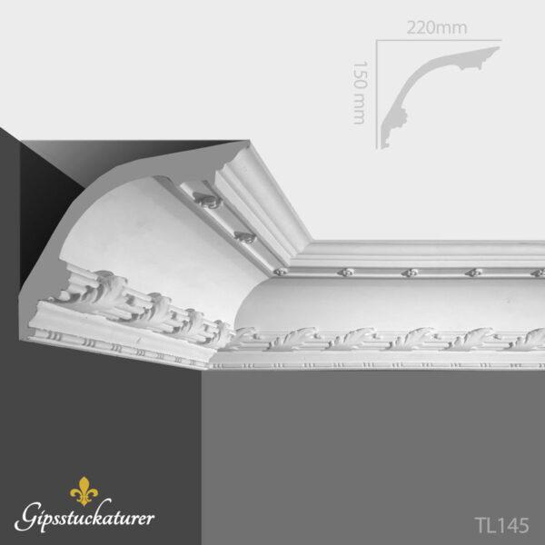 gips-stuckaturer-stockholm-sekelskifte-dekorativa-taklister-taklist--tl145-gipsstuckaturer-se
