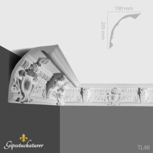 gips-stuckaturer-stockholm-sekelskifte-dekorativa-taklister-taklist--tl48-gipsstuckaturer-se